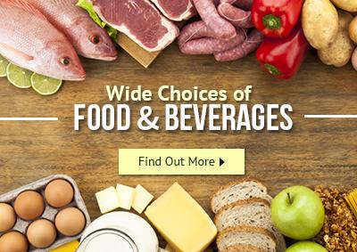 Food ad beverages supplies