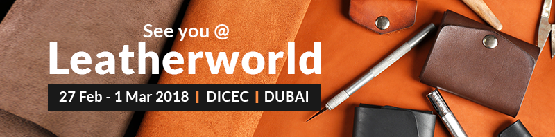 Leatherworld Middle East- Best supplier and buyer meet from Leather Industry