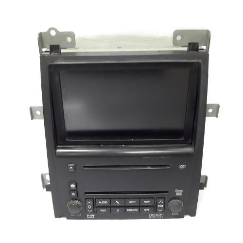 Dvd screen player cadillac 2010_2