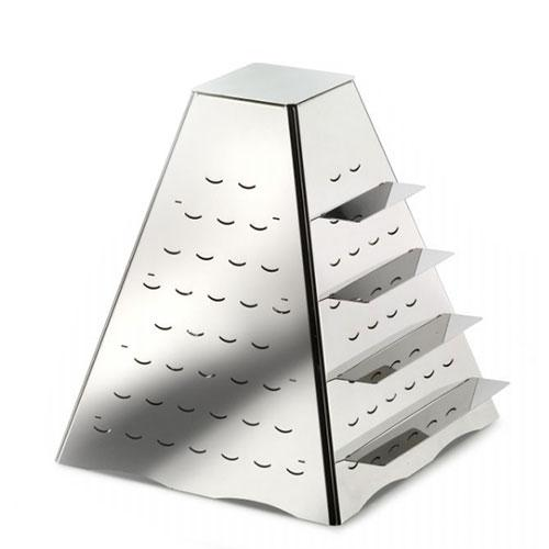 Pyramid Zakouski Holder With Metalic Rectangular Inserts 144 pcs  51133899_2