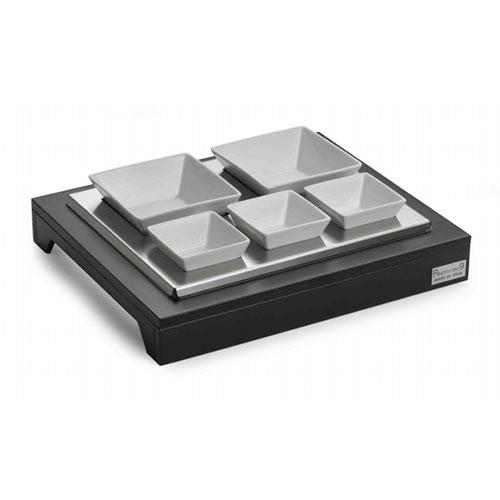 Refrigerated Display Case With 5 Porcelain Bowls  51270305_2