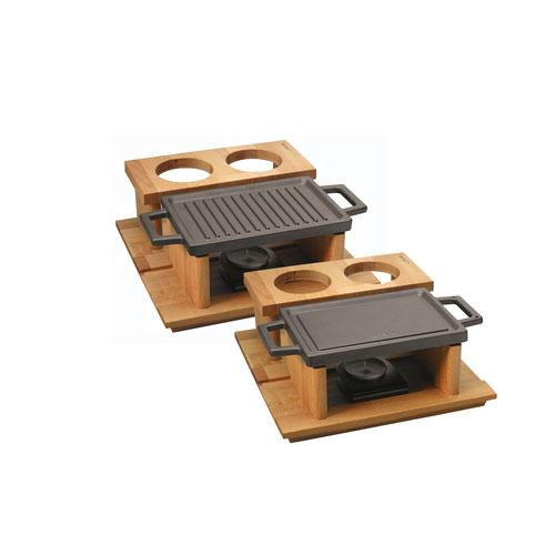 Hot Plate Ve And Wooden Service Stand LVECOHP2215T13K44_3
