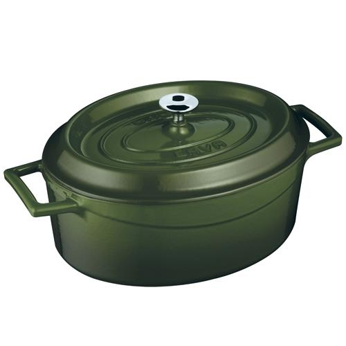 Cast Iron Oval Casserole - LV O TC 25 K2 BL_3