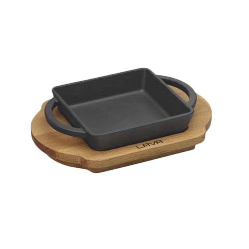 Rectangular Dish And Wooden Platter LV ECO P TV 1215 K4_3