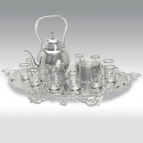 C 3034 / Tea Set: Plexi Oval Tray_2