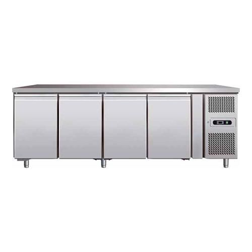 STAINLESS STEEL 4 DOORS REFRIGERATED COUNTER_2