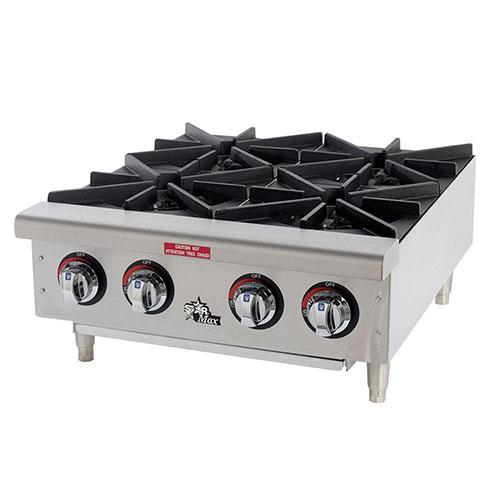 Table top 4 range gas cooker_2