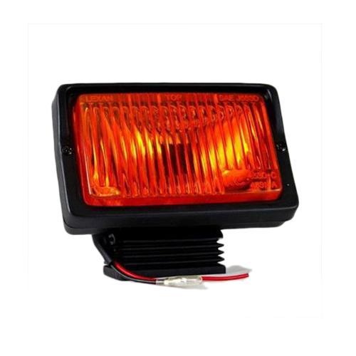 KC HILITES 5X7 55W SINGLE AMBER FOG LIGHT 1530_2