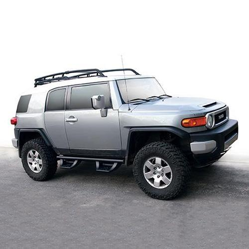 06-14 TOY FJ CRUISER 4-DOOR FAB FOURS LENT CAB SIDE 4-STEP J1004_2