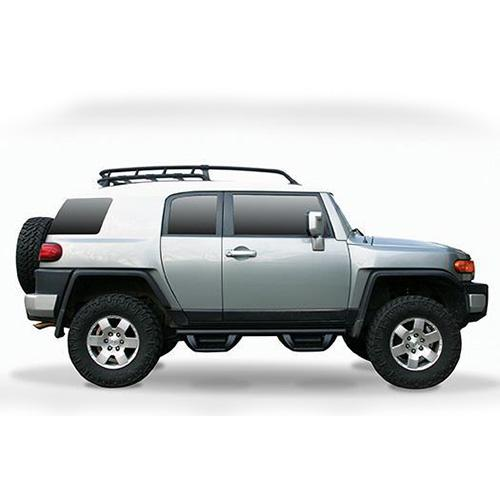 06-14 TOY FJ CRUISER 4-DOOR FAB FOURS LENT CAB SIDE 4-STEP J1004_4
