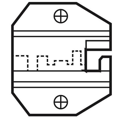 Die Set For AMP 8P/RJ45 Modular Plugs 1PK-3003D14_2