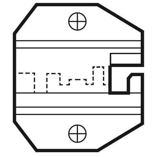 Die Set For RJ22 4P Handset Modular Plugs 1PK-3003D16_2
