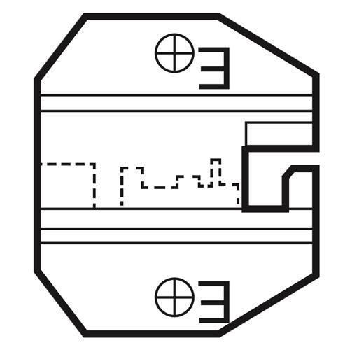 Die Set For RJ50 10 P Modular Plugs 1PK-3003D17_2
