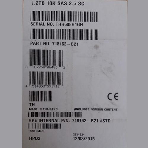 HP 1.2TB 6G SAS 10K rpm SFF (2.5-inch) SC Dual Port_3