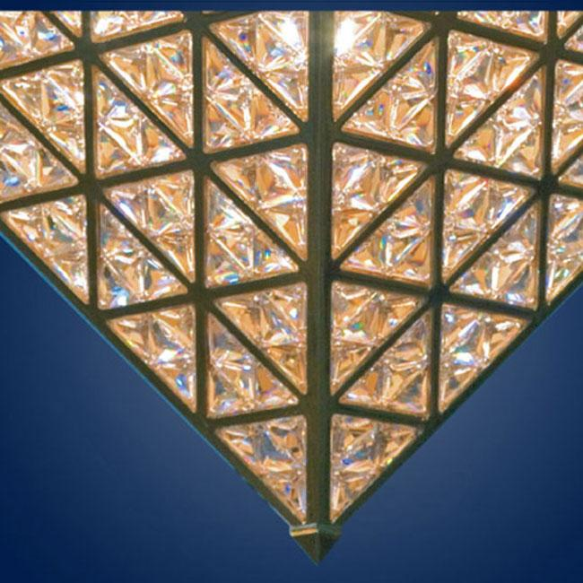 KNY DESIGNS K 4176 - PYRAMID CEILING LIGHT_2