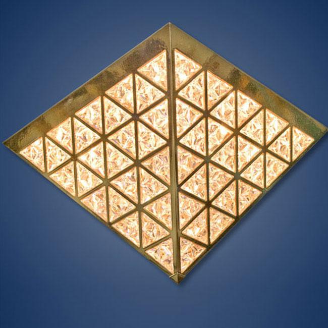 KNY DESIGNS K 3721 PYRAMID CEILING LIGHT_3