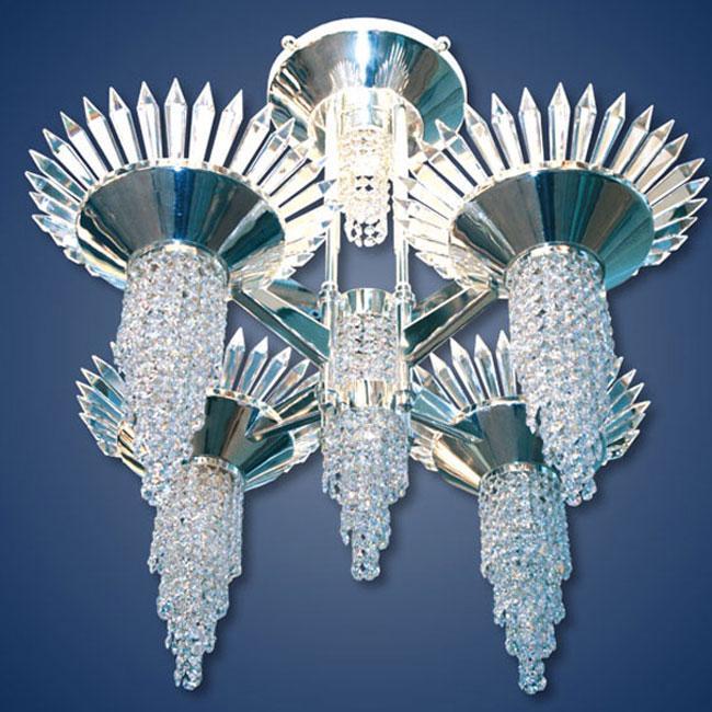 KNY DESIGNS K 3804 NORDIC SUN CHANDELIER_2
