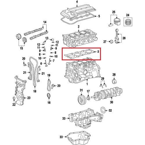 OEM Nissan 11044-1KC0A Cylinder Head Gasket_2