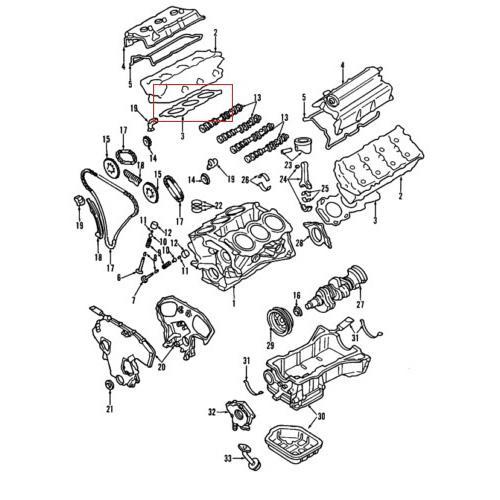 OEM Nissan 11044-8J102 Head Gasket_2