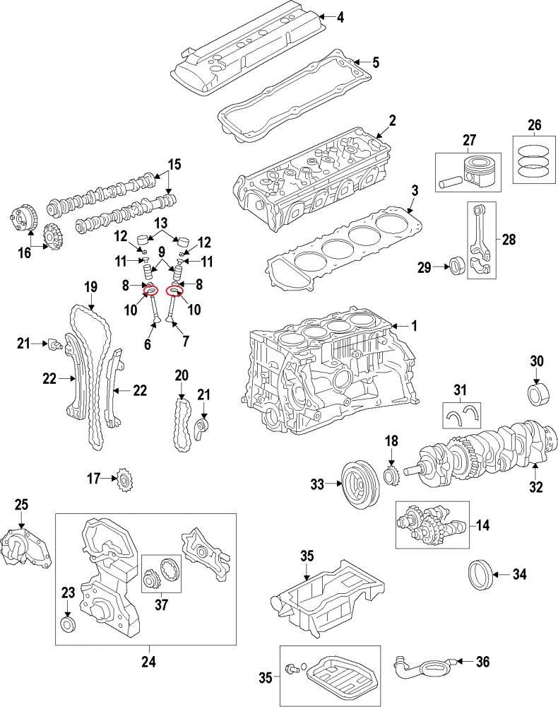 Nissan 11099-6Nissan26A Valve Seats_2