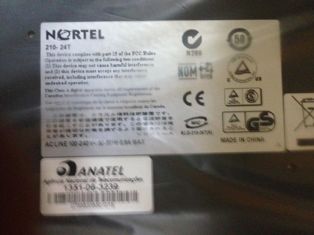 Nortel Business Ethernet Switch 210-24T - switch - 24 ports - managed_4
