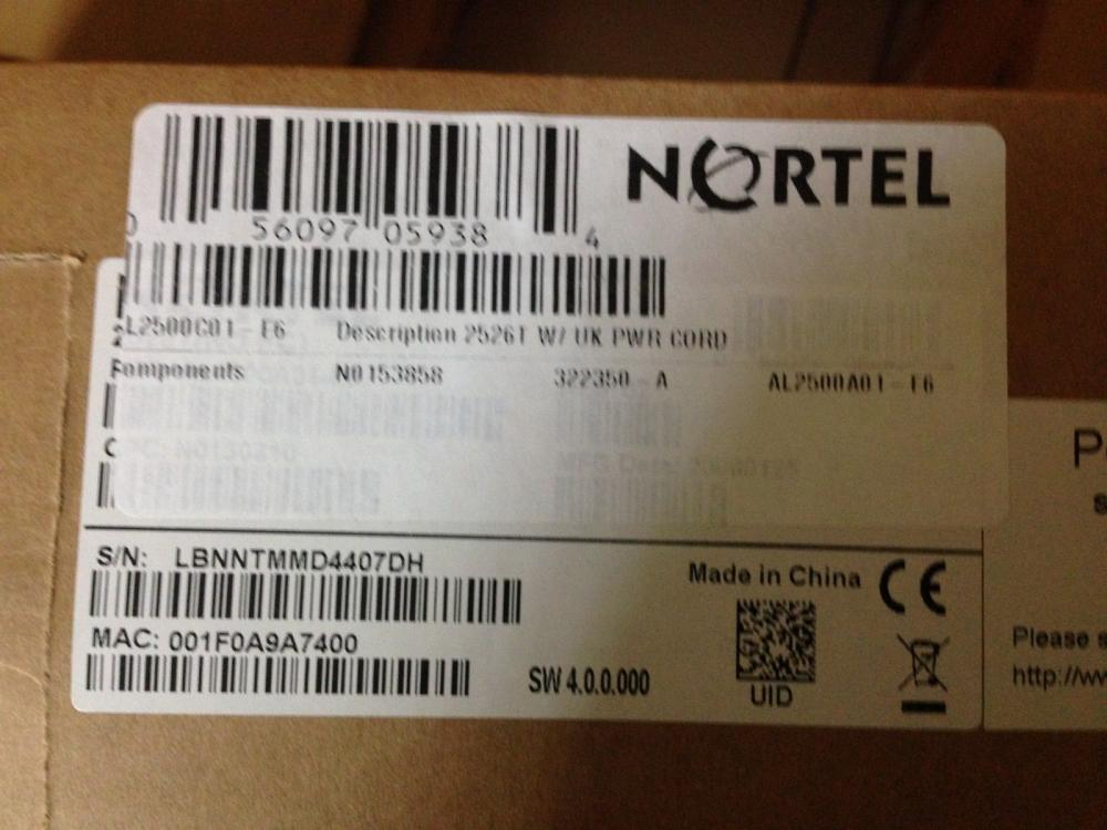 Nortel Business Ethernet Switch 210-24T - switch - 24 ports - managed_3