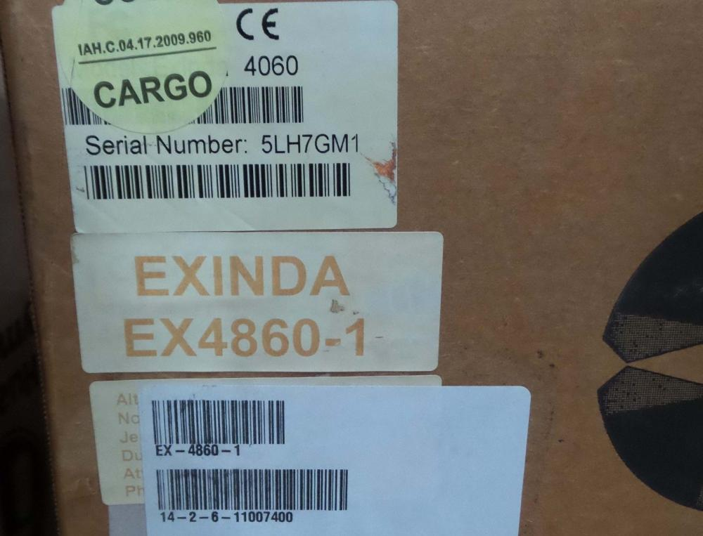 Exinda 4800 appliance that Accelerates, Monitors and Optimizes up to 1 Mbps_4