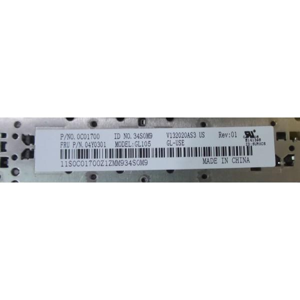 Lenovo IBM Thinkpad E530 E530C E535 Keyboard 04Y0301 V132020AS3_3
