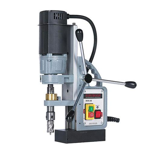 ECO.32-T Magnetic drilling-threading machine up to ø 32 mm / M16 Made In Holland_2
