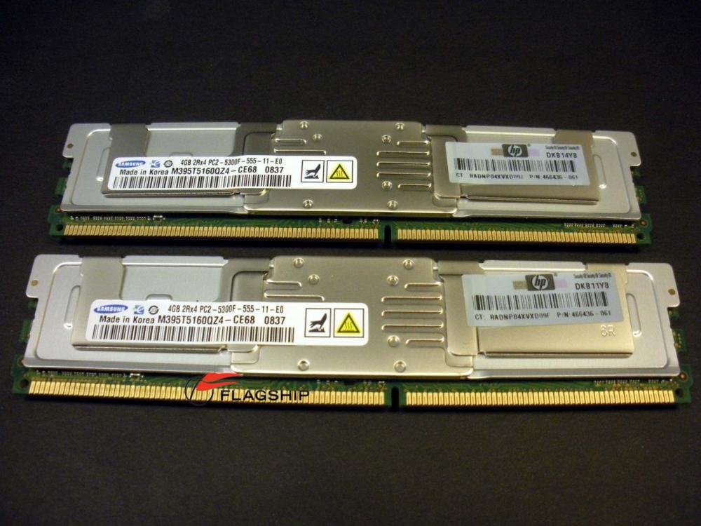 HP 8GB PC2-5300F 397415-B21 398708-061_2