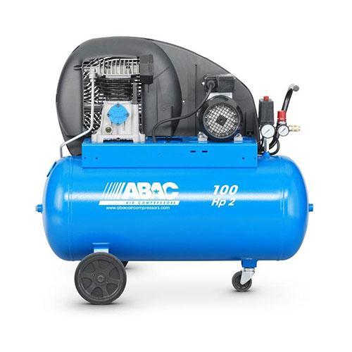 100 LTR AIR COMPRESSOR B2800/100CM2 ,ABAC ITALY_2