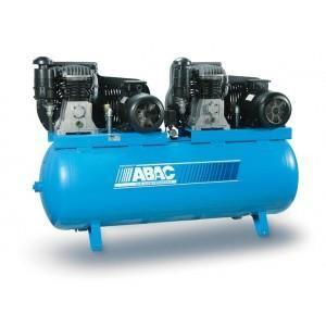 500 LTR AIR COMPRESSOR B5900/500CT5.5 ,ABAC ITALY_2