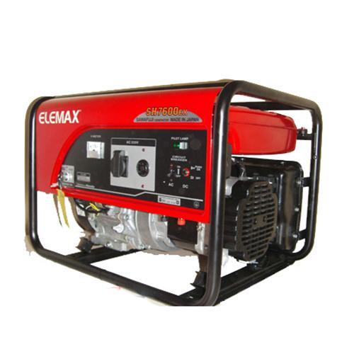 6.5 KV MANUAL 7600EX ELEMAX HONDA GENERATOR - MADE IN JAPAN_2