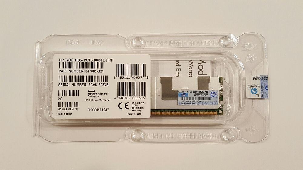 647654-181 HP 32GB (1X32GB) 4RX4 PC3L-10600L MEMORY MODULE 647885-B21_2