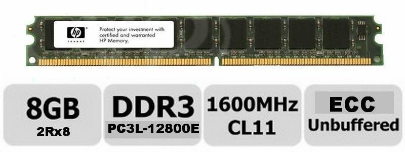 P 8GB (1X8GB) DDR3-1600 ECC HP Z400 Z420 Z620 Z820_2