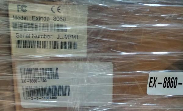 Exinda 8060 EX-886100 appliance Accelerates Monitors & Optimizes up to 100 Mb_2