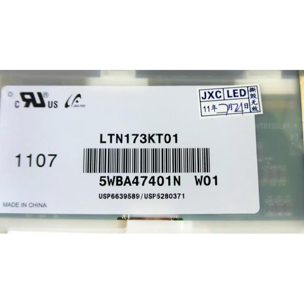 "Replacement Screen LTN173KT01-A01 PN: USP6639589 / USP5280371 17.3"" LED_4"