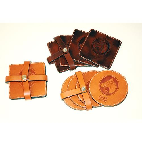 ELEGANT LEATHER COASTER_2