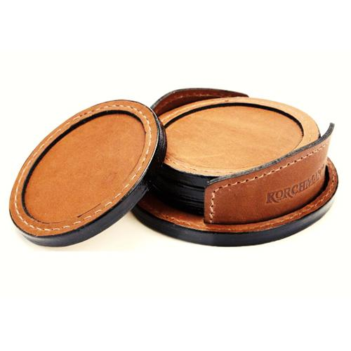 ELEGANT LEATHER COASTER_3