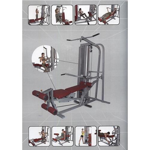 SPORTS LINKS HU 002 MULTISTATION 1 WT.STACKS STRENGTH EQUIPMENTS_2