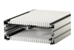 Air System Flexlink Aluminum Modular Plastic Belt Conveyor_3