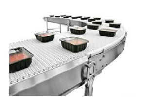 Air System Flexlink Stainless Steel Modular Plastic Belt Conveyor_2