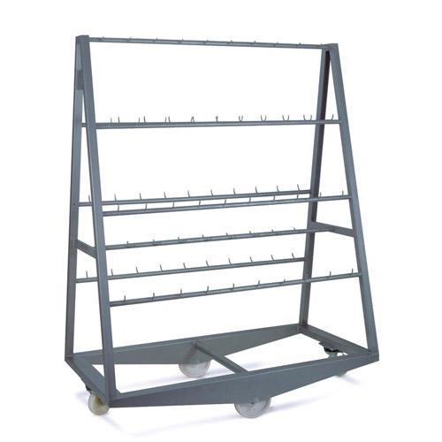 Pyramid Trolley with Fixed Bars, Total 100 Hooks_2