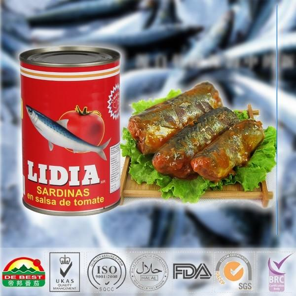 Canned Sardine 125g in oil tin_2
