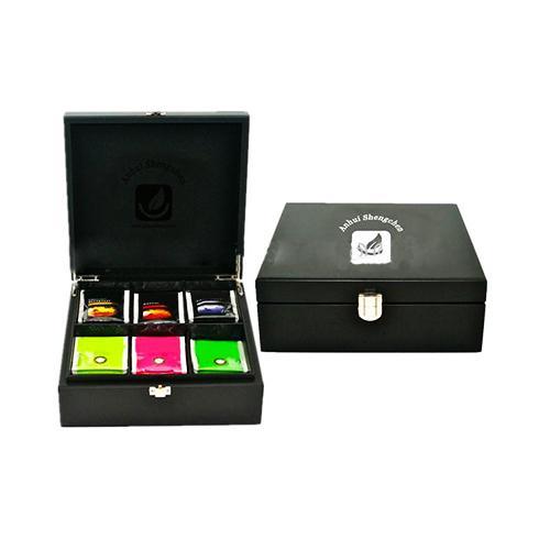 Wooden tea box with tea bags sc1002_2