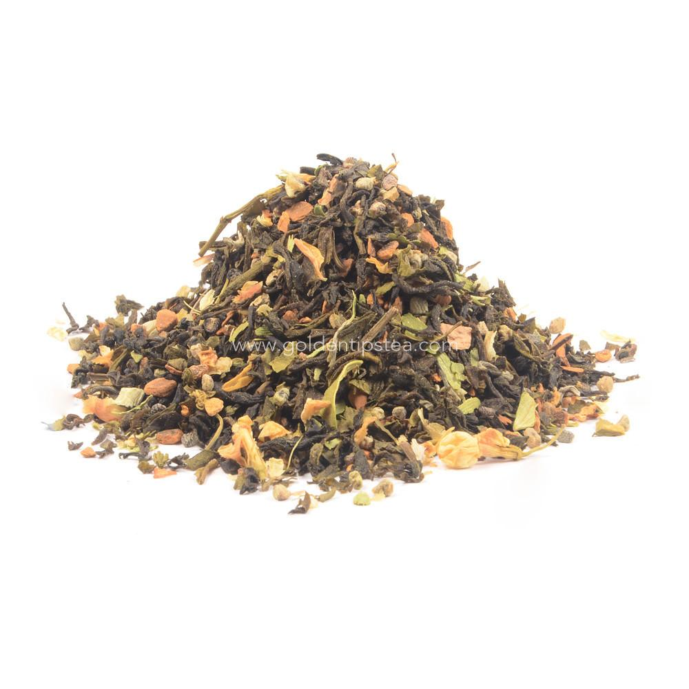 Jasmine Elettaria Cassia Green Tea_2