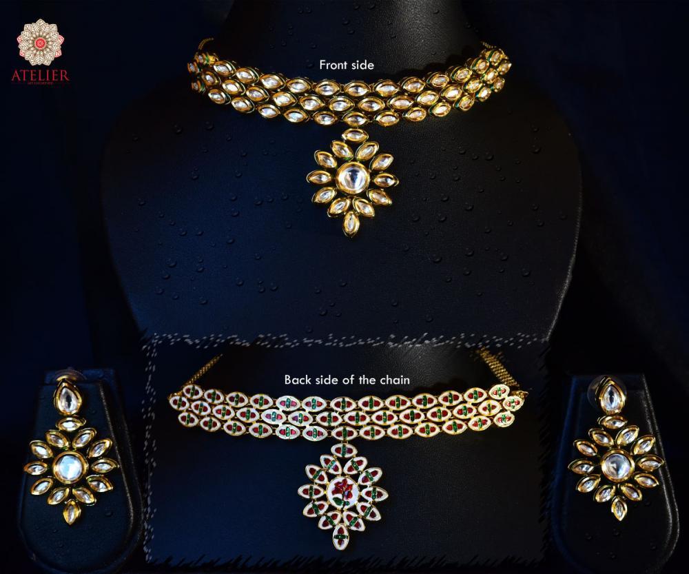KD19- Kundan Necklace Set_2
