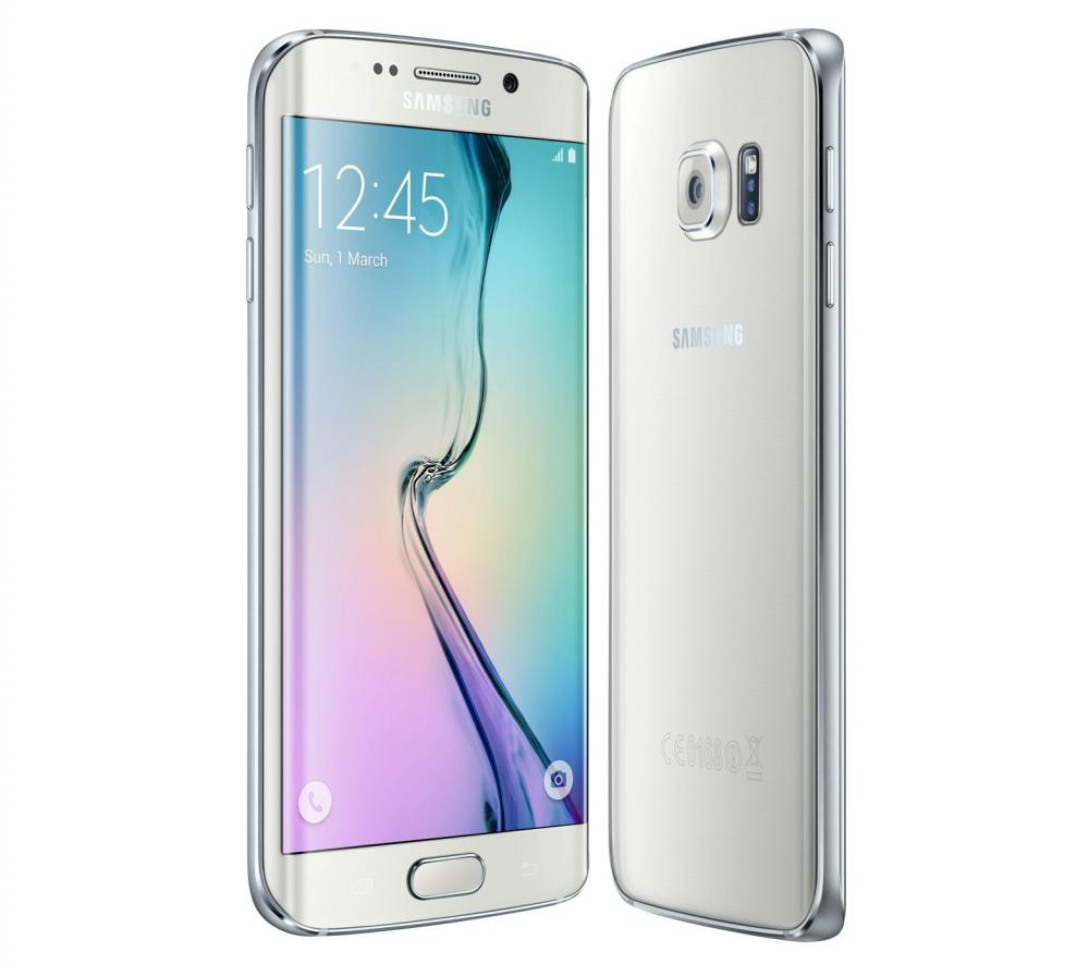 Samsung Galaxy S6 Edge Verizon GSM Unlocked Black and White_3