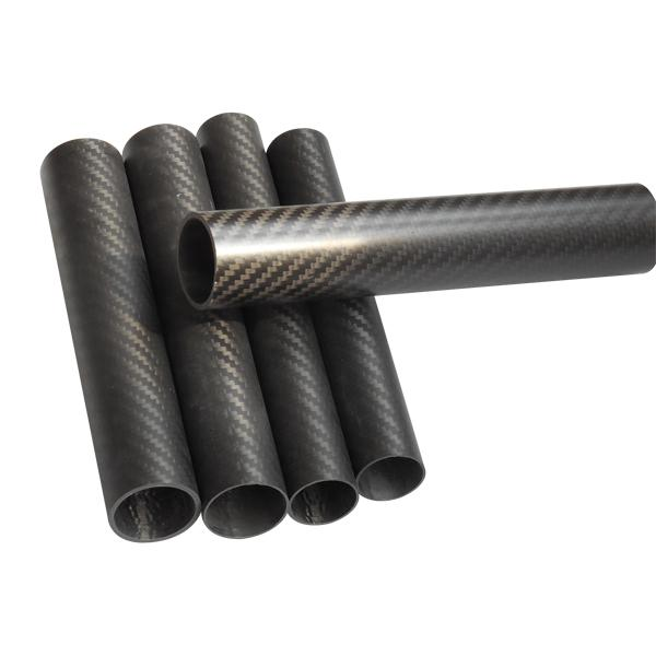 Wholesale Best Price Different size Twill Matte 3K carbon tube Carbon fiber pipe_4