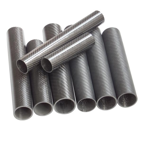 Wholesale Best Price Different size Twill Matte 3K carbon tube Carbon fiber pipe_3